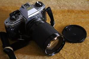 Nikon FG + 28-135mm zoom film photography outfit in exc condition Sydney City Inner Sydney Preview