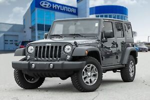 2018 Jeep Wrangler Unlimited Rubicon, NAVI, HEATED SEATS, BLUETO