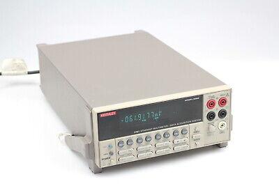 Keithley 2701 Ethernet Multimeterdata Aquisition System