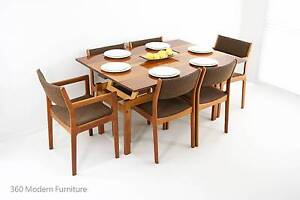 Mid Century Blondewood Rising Coffee Dining Table Retro Vintage Narre Warren Casey Area Preview