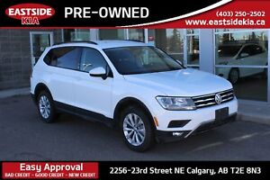 2018 Volkswagen Tiguan TREND AWD CAMERA HEATED SEATS BLUE TOOTH