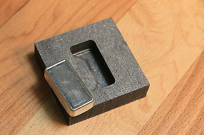 2 oz Silver Graphite Ingot Mold - Loaf Bar - Casting Melting Refining Gold