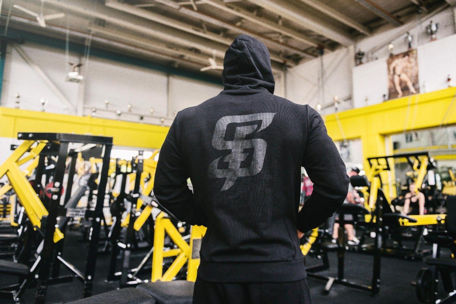 STAY FOCUSED - Herren Fitness Hoodie Pullover - Gym Bodybuilding Training