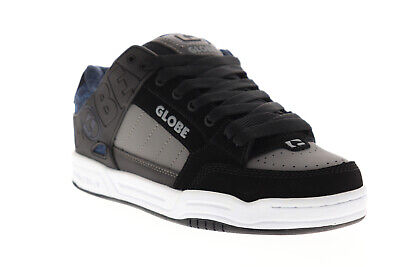 Globe Tilt Mens Black Synthetic Athletic Lace Up Skate Shoes