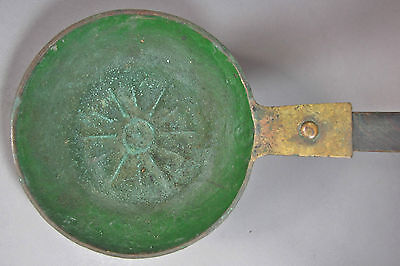 A Very Rare and Fine Korean Charcoal Hand Held Iron-19th C.: