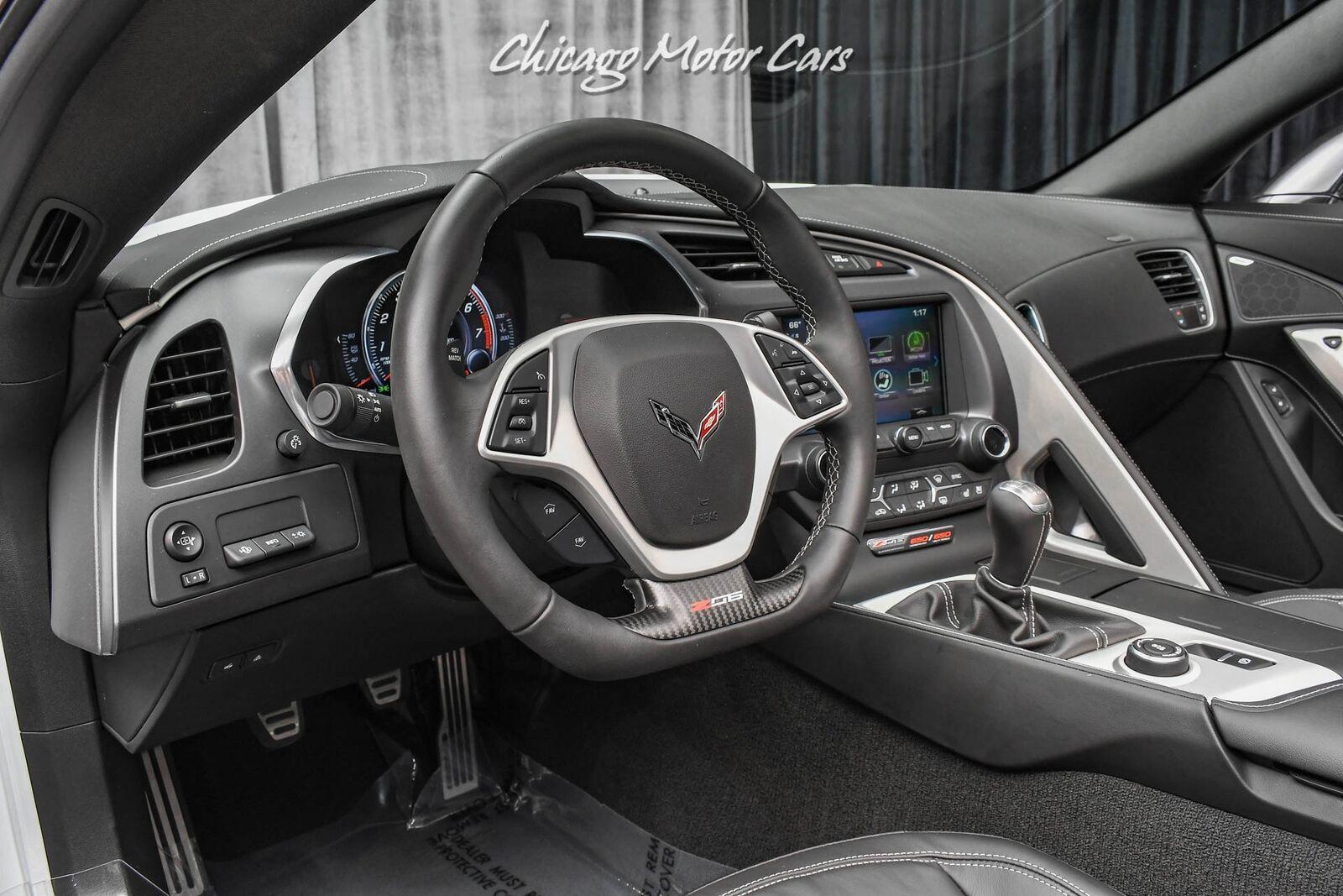 2019 White Chevrolet Corvette Z06 2LZ   C7 Corvette Photo 8