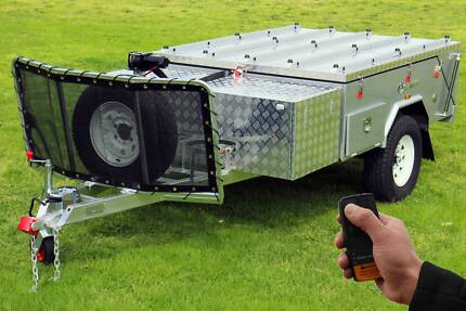 Star Vision Hard Floor Off Road Camper Trailer - Alpha A