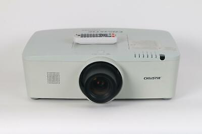 Christie LWU505 Projector - Lamp Hours between 1500-2000 With Remote