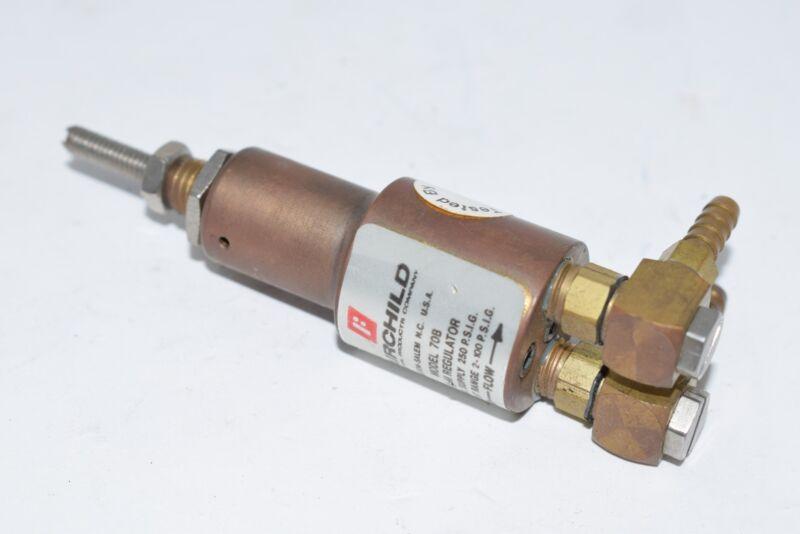 Fairchild 70B Mini Pressure Regulator 250 PSI Fittings
