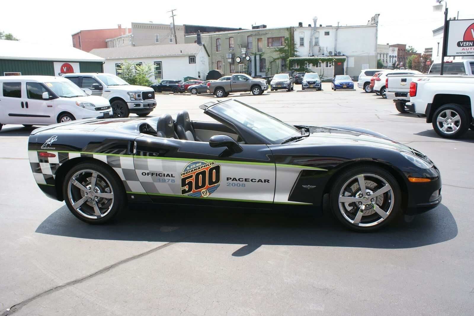 2008 Black Chevrolet Corvette   | C6 Corvette Photo 10