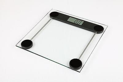 180KG Digital Electronic Glass LCD Bathroom Scales Body Weighing Slim Measuring