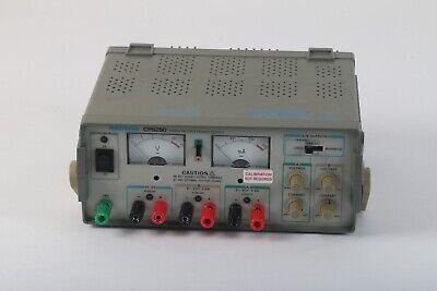 Tektronix Cps250 Triple Output Dc Power Supply Analog Display - Broken Handle