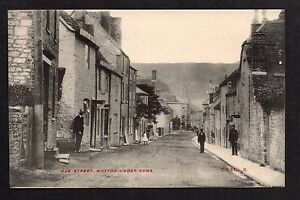 Wotton under Edge - Haw Street - printed postcard