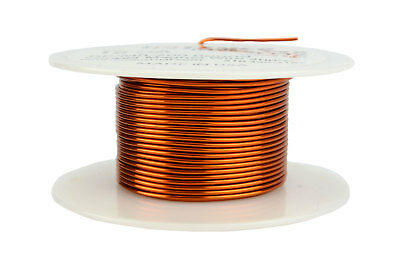 33AWG ENAMELLED COPPER WINDING WIRE MAGNET WIRE 500 Gram Spool COIL WIRE