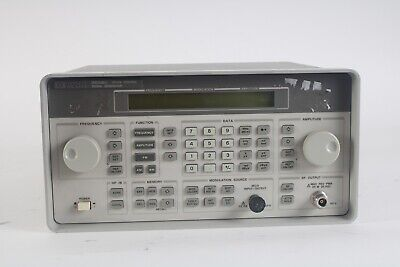 Agilent Hp Keysight 8647a Synthesized Signal Generator 250khz - 1000 Mhz