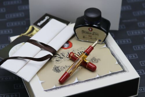 Pelikan M101N Special Edition Tortoiseshell Red Fountain Pen - UNUSED