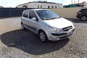 2010 Hyundai Getz Hatchback AUTO Rosewater Port Adelaide Area Preview