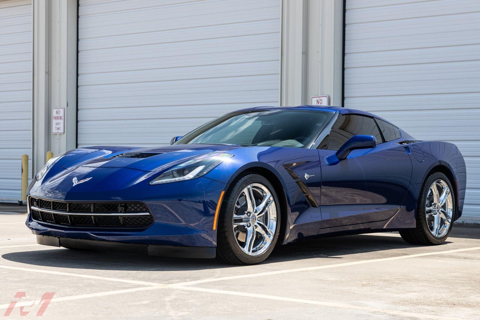 2017 Blue Chevrolet Corvette  2LT | C7 Corvette Photo 8