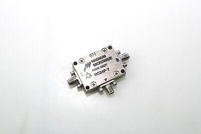 Magnum Microwave Double Balanced Mixer 3.4 Ghz Mc24p-7 Fscm 59277