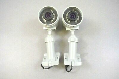 LOT OF 2) VIVINT HD300W OUTDOOR WIRELESS HD CAMERA w/ NIGHT -