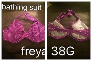 Excellent condition 36H / 38 G bras and bathing suit tops
