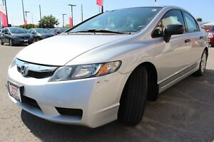 2010 Honda Civic DX-A Air Conditioning, 6 Disc CD Player, MP3...