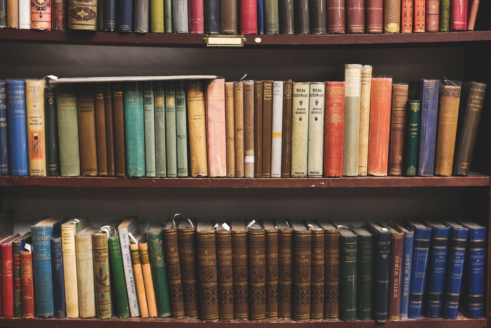 The Bookwyrm's Backshelf