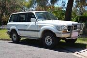 1991 Toyota LandCruiser 80series petrol Sahara Garran Woden Valley Preview