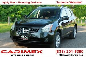 2009 Nissan Rogue SL AWD | Sunroof | Heated Seats