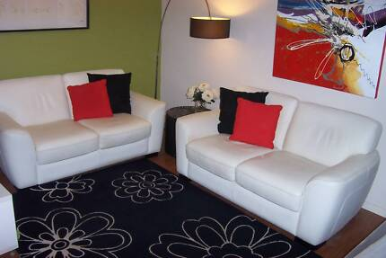 LOUNGE leather 2 x 2 two seaters Tamborine Ipswich South Preview