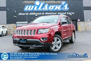 2014 Jeep Compass NORTH | LEATHER | SUNROOF | CRUISE CONTROL | P
