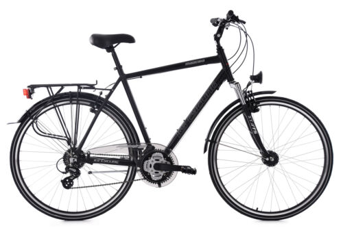 Trekkingrad Herrenfahrrad 28 Zoll Madeira Aluminiumrahmen RH 58 cm schwarz 517T