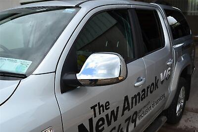 Espejo Cubiertas para Volkswagen VW Amarok 2010-2016 4x4 Accesorios Cromo Acero