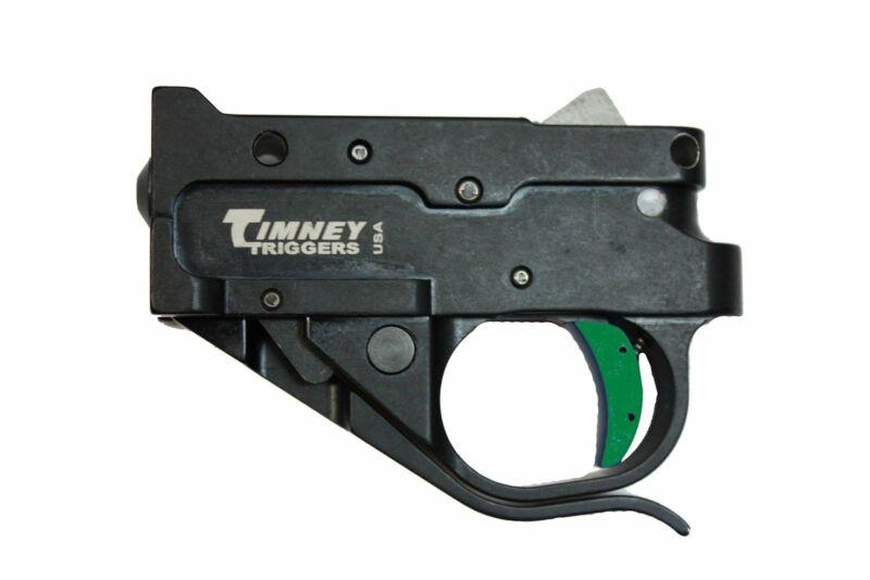 Timney 10/22 Black Trigger Guard Assembly - Green Trigger Shoe 1022-5C