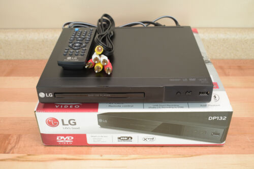 LG DP132 DVD / CD Player w/ USB Direct Recording REGION 1 - Free Ship - #2 - I2