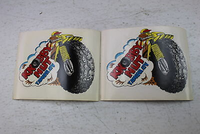 YAMAHA NEW OLD STOCK KNOBBY NUT YAMAHA ATV STICKERS DECALS YTM TRI MOTO 200/225