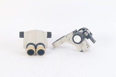 Nikon Smz-1 Stereo Microscope Head W Focusing Mount Holder