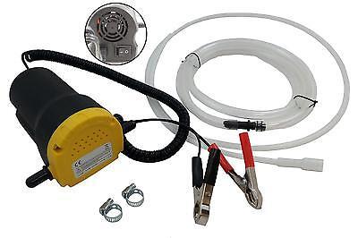 Öl-Absaugpumpe Ölpumpe Absaugpumpe für Motoröl Heizöl Diesel Kraftstoff 12 Volt