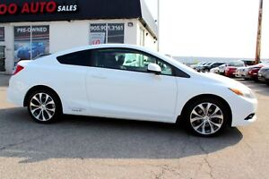 2012 Honda Civic Si COUPE 6-SPEED MANUAL NAVIGATION CERTIFIED 2Y
