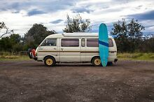 TOYOTA HIACE POP TOP Campervan extended + Surf board + Hot shower Sydney City Inner Sydney Preview