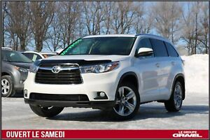 2014 Toyota Highlander LIMITED - 4X4 - 7 PASS - SIEGES CHAUFF VE