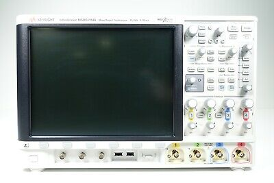 Keysight Used Msox4154a Oscilloscope Mixed Signal 4 16-ch 1.5 Ghz Accessories
