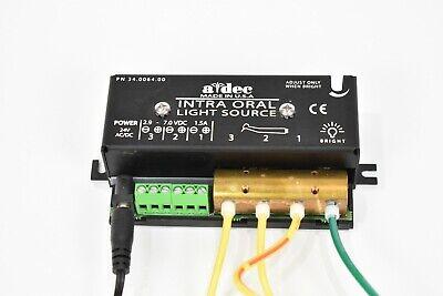 Adec Dental Intra-oral Light Source Fiber Optic A-dec Pn 34-0064-00