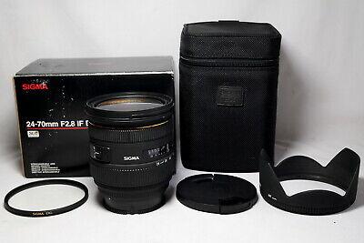 Sigma EX 24-70mm f/2.8 IF HSM DG Lens For Sony A mount full frame