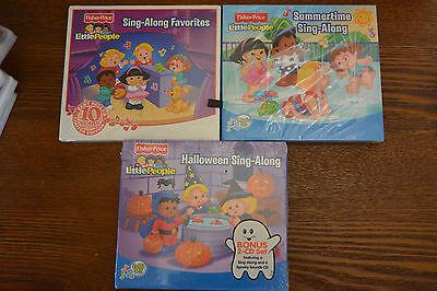 Little People Sing-Along CD Set: Summertime, Halloween and Favorites - Halloween Sing Along Cd