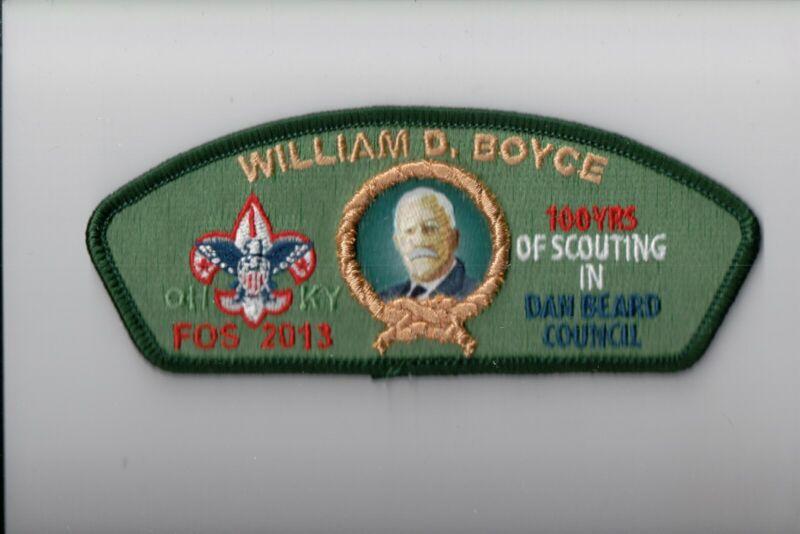 Dan Beard Council SA-50 2013 Friends Of Scouting FOS CSP (William Boyce)