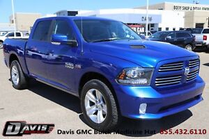 2014 RAM 1500 Sport leather/NAV, low km