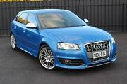 2009 Audi S3 8P Sportback 5dr S tronic 6sp quattro 2.0T [MY09] North Brighton Holdfast Bay Preview