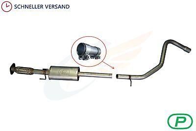 Auspuff mitte Fiat Stilo 1.8 16V Mitteltopf Mittelschalldämpfer