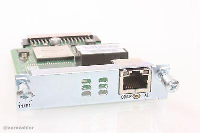 Cisco VWIC3-1MFT-T1/E1 für Router 1900 2900 3900 3rd Gen 1-Port Multiflex Tru...